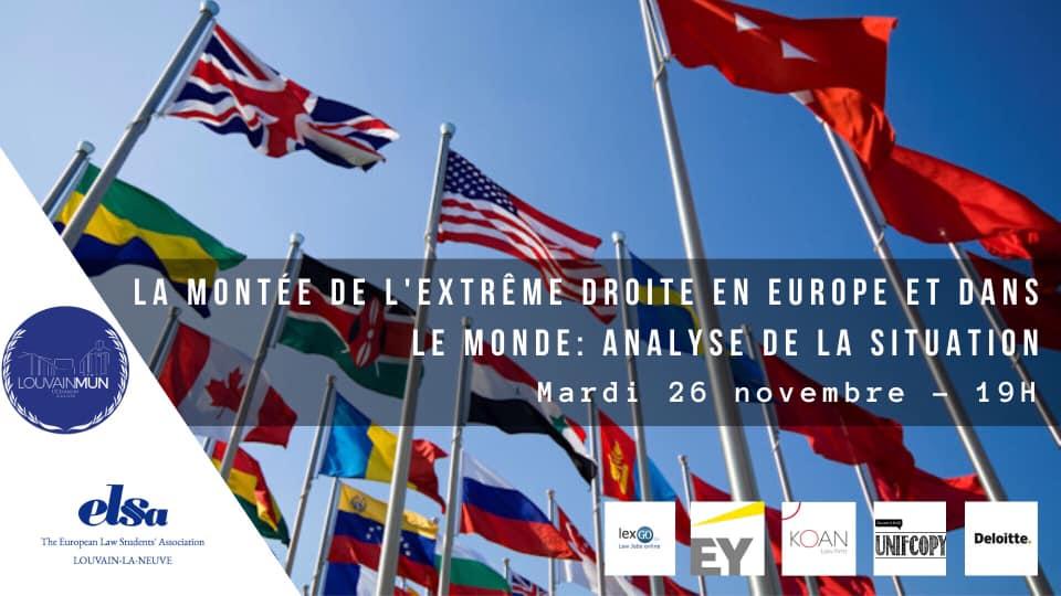 Conférence : La montée de l'extrême droite en Europe et dans le monde
