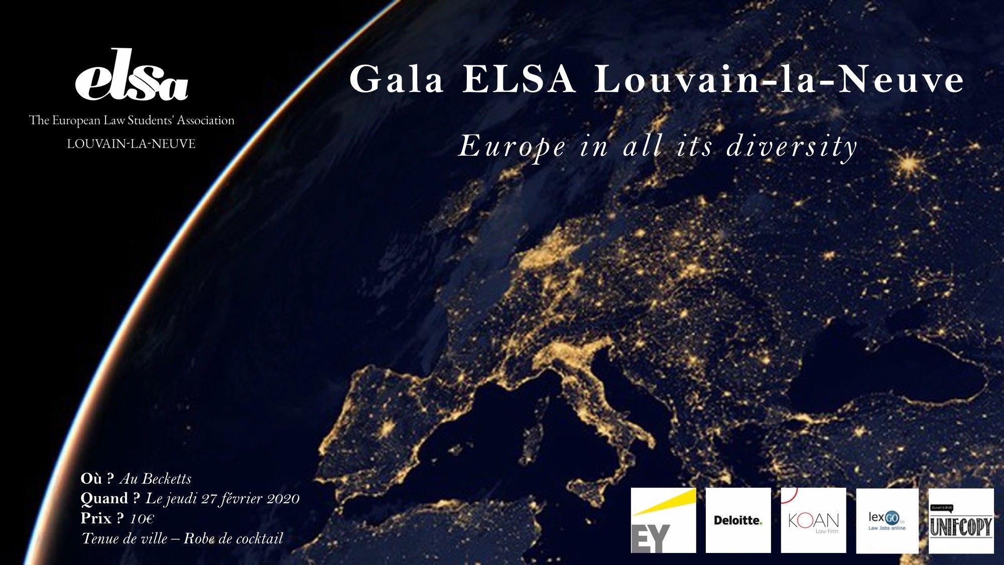 GALA ELSA Louvain-la-Neuve