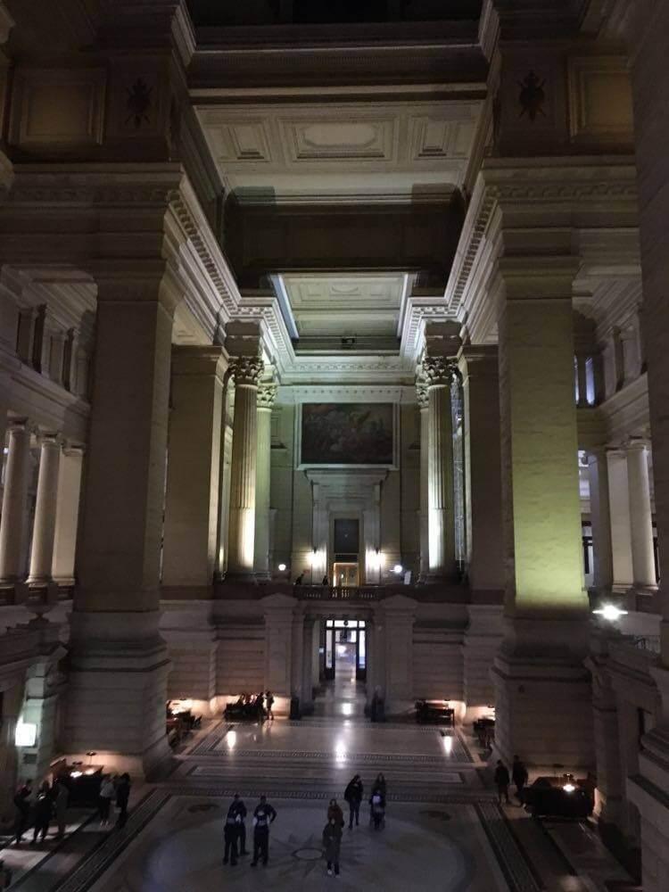 Visite au Palais de Justice de Bruxelles